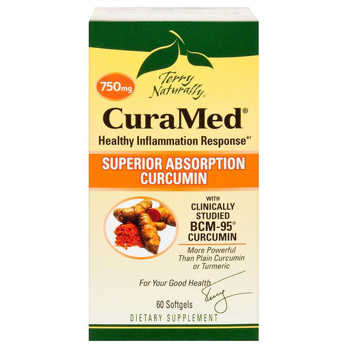 CuraMed® - Superior Absorption Curcumin - 750 mg, 60 softgels