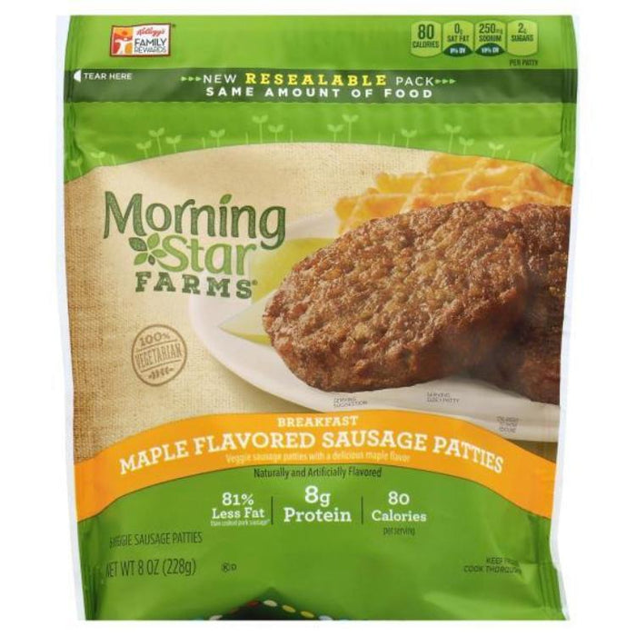 Maple Sausage Patties, 8 oz