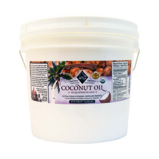 Coconut Oil - Expeller Pressed, Organic, Refined.