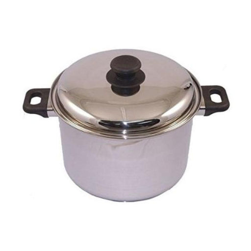 Waterless Stainless Steel Stockpot, 12 quart