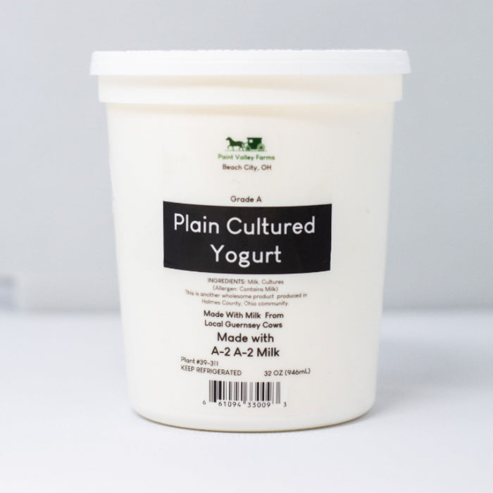 Cultured Yogurt, 32 oz