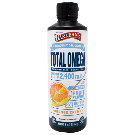 Total Omega Swirl 3-6-9 - Orange Cream Flavor, 16 oz.