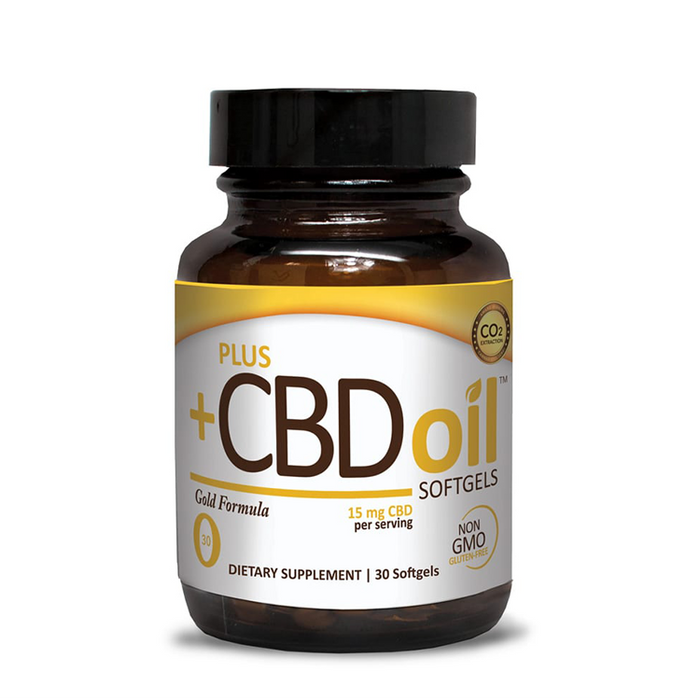 CBD Gold pills 30 softgels