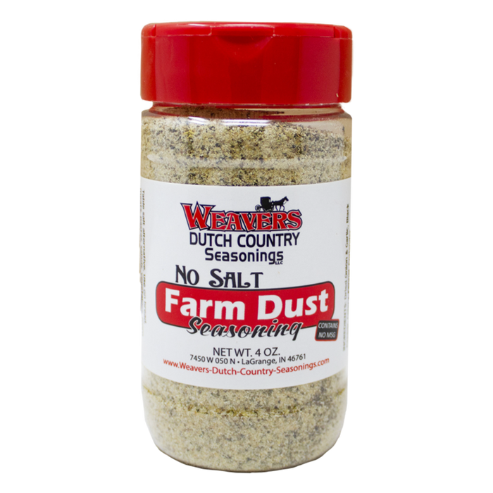 Farm Dust Seasoning - No Salt, 4 oz.