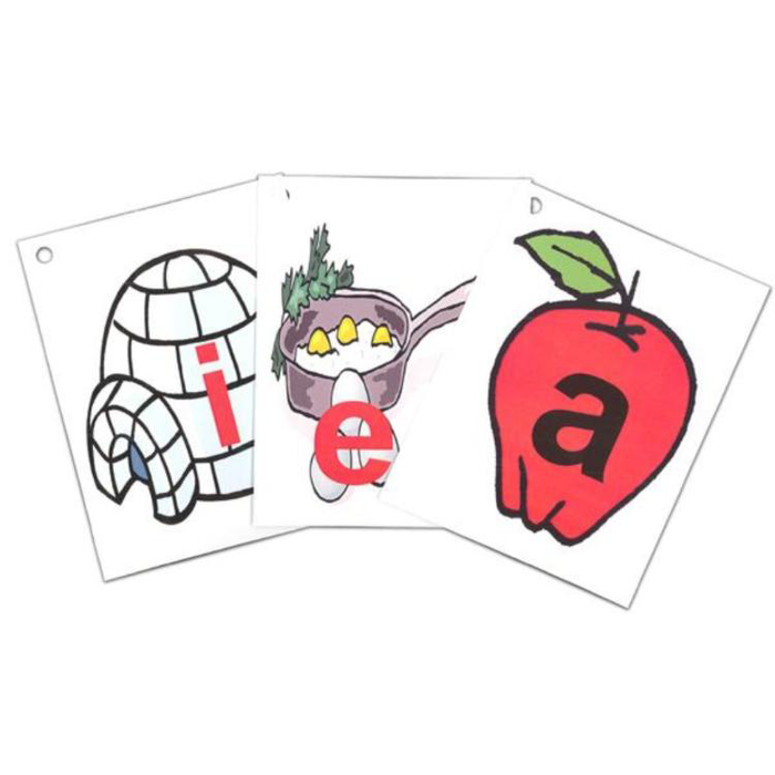 Right Brain Phonics Flash Cards