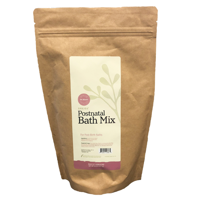 Postnatal Bath Soak - Cut Herb, 10 oz
