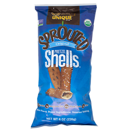 Sprouted Pretzel Shells, 8 oz