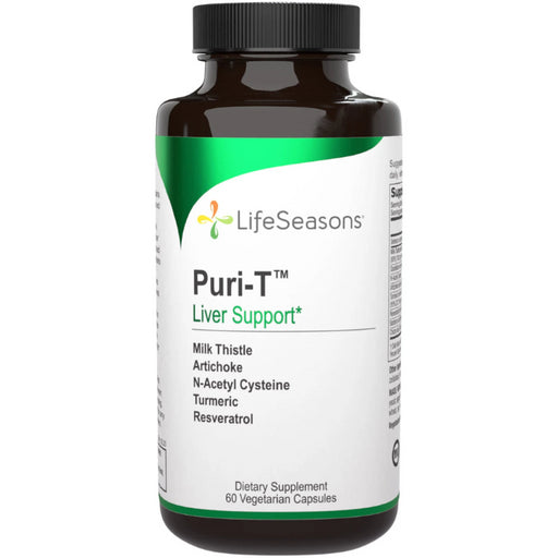 Puri-T, Liver Support, 60 caps