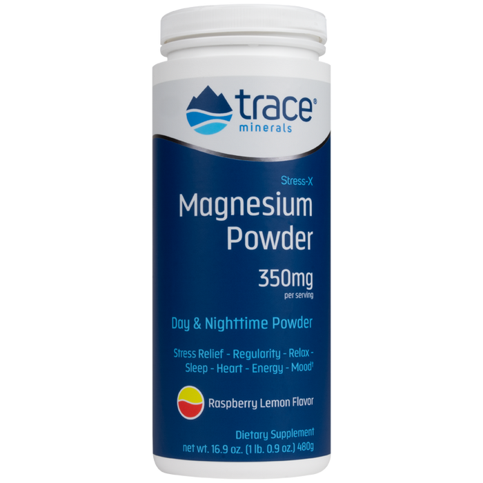 Stress-X Magnesium Powder - Raspberry Lemon