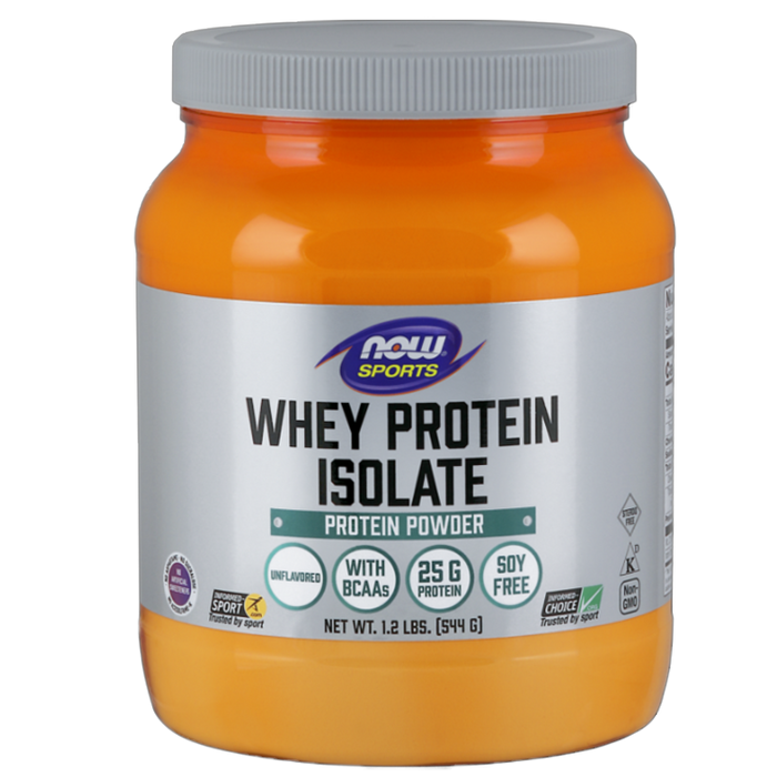 Whey Protein Isolate - Natural Unflavored, 1.2 lbs