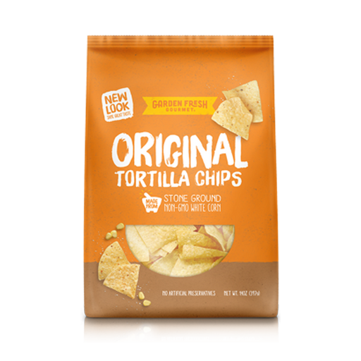 White Corn Tortilla Chips,16 oz