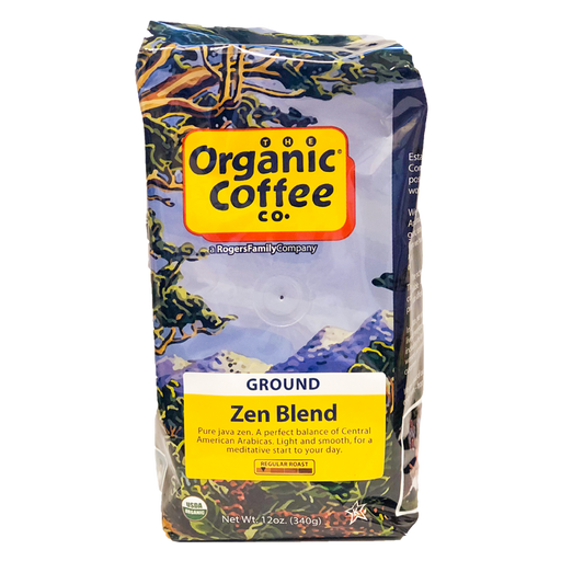 Organic Coffee - Zen Blend, 12 oz.