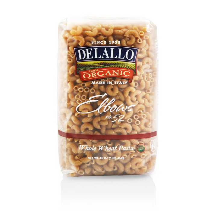 Whole Wheat elbows, 1 lb