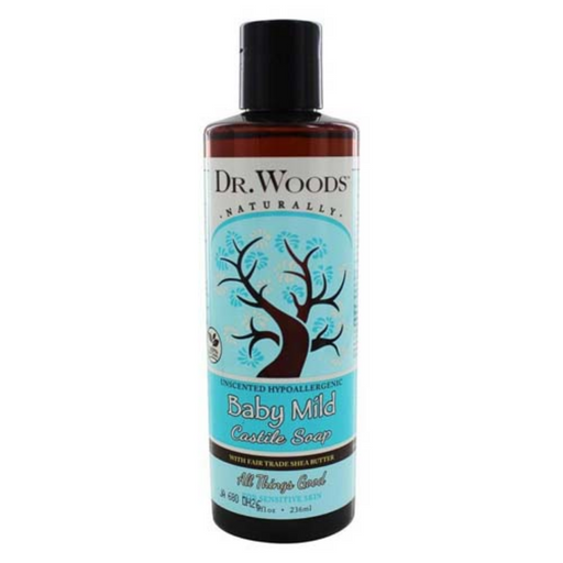 Dr. Woods Baby Mild Castile Soap - Unscented
