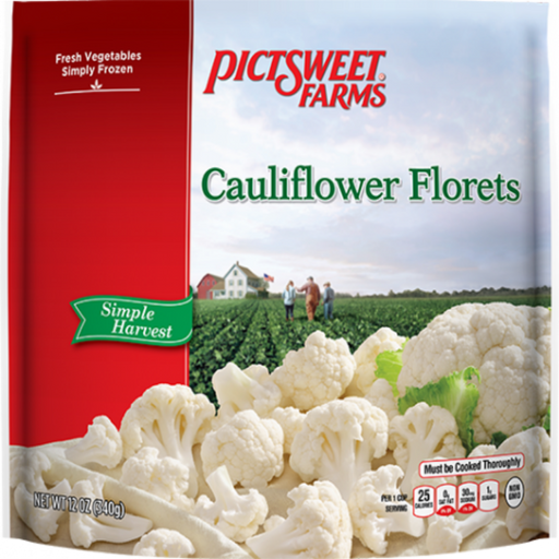 Cauliflower Florets- Frozen, 12 oz