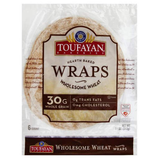 Whole Wheat Wrap, 6 ct
