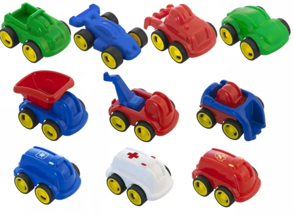 Minimobil School Set,10 Count