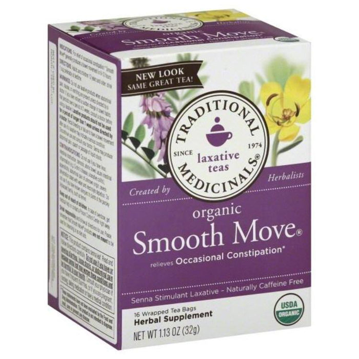Organic Smooth Move® Tea, 16 Tea Bags