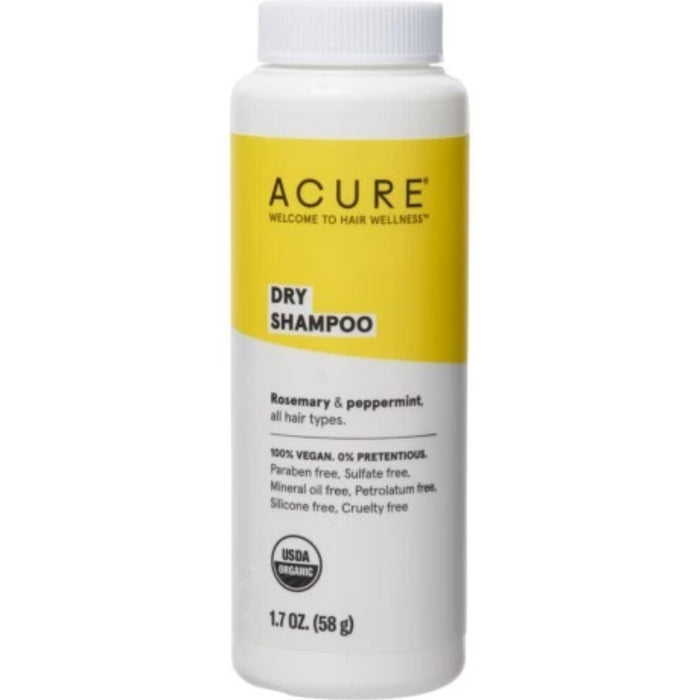 Dry Shampoo-Rosemary & Peppermint, 1.7 oz