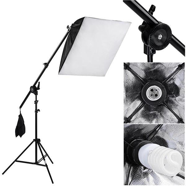 Softbox Lighting Boom Kit