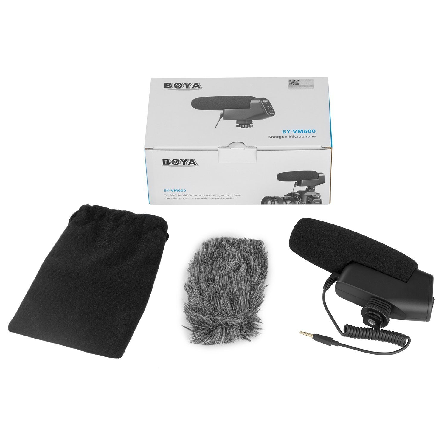 Professional Shotgun Condenser Microphone - BOYA BY-VM600 - CLEARANCE SALE!