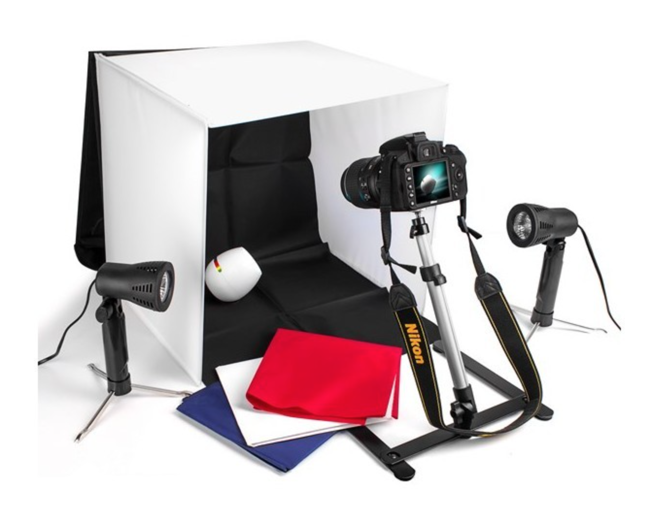 Photo Studio Table Top Tent Lighting Kit