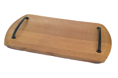 Wine Barrel Top Platter