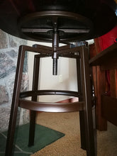 Adjustable Wine Barrel Top Side Table, End Table