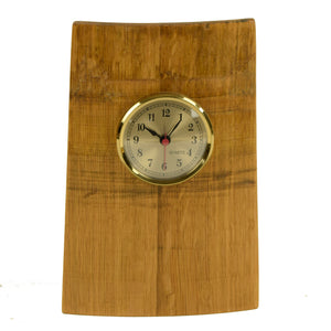 Wine Barrel Clock - Vertical