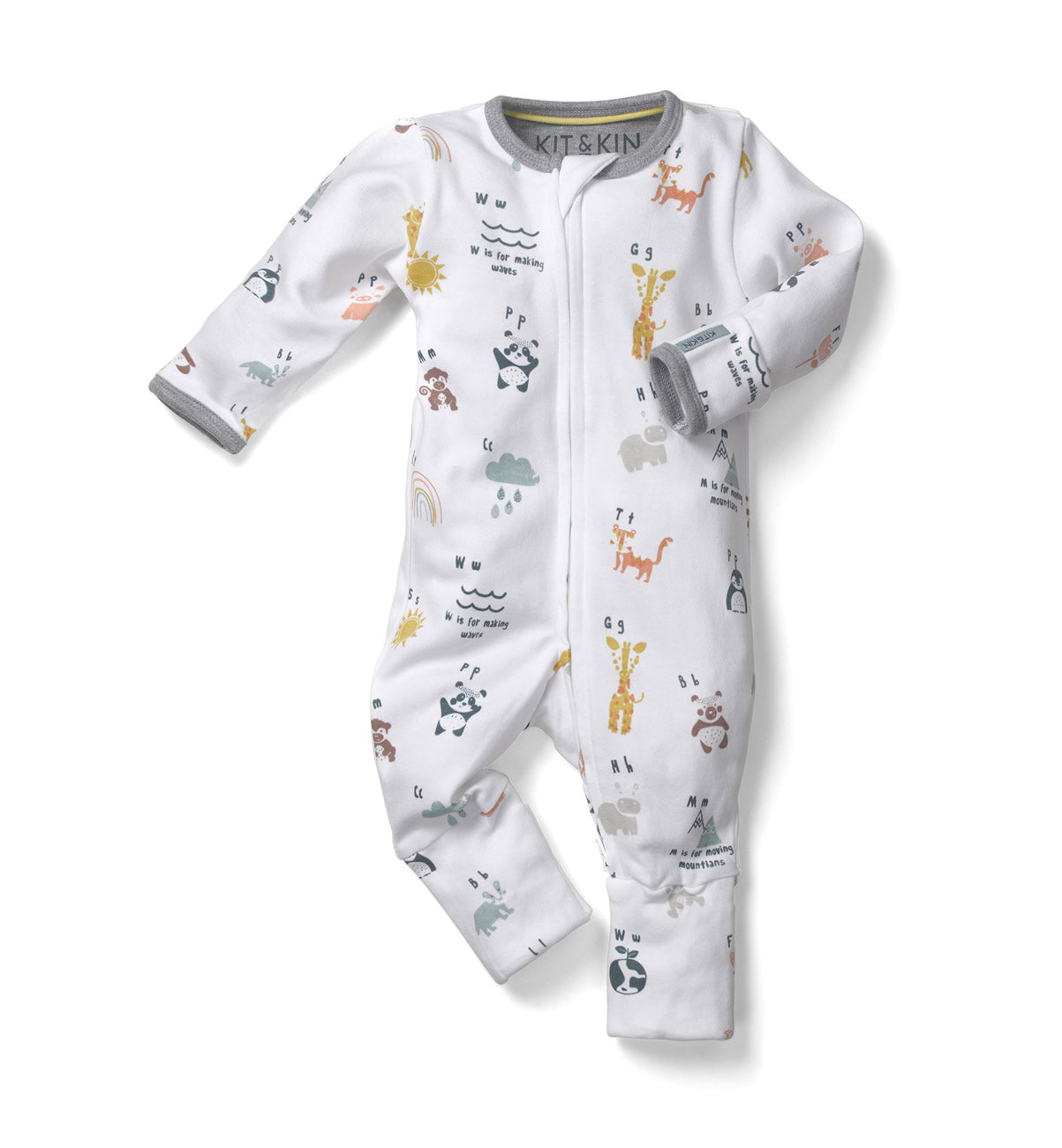 All-in-one durable onesie 0 to 3 months