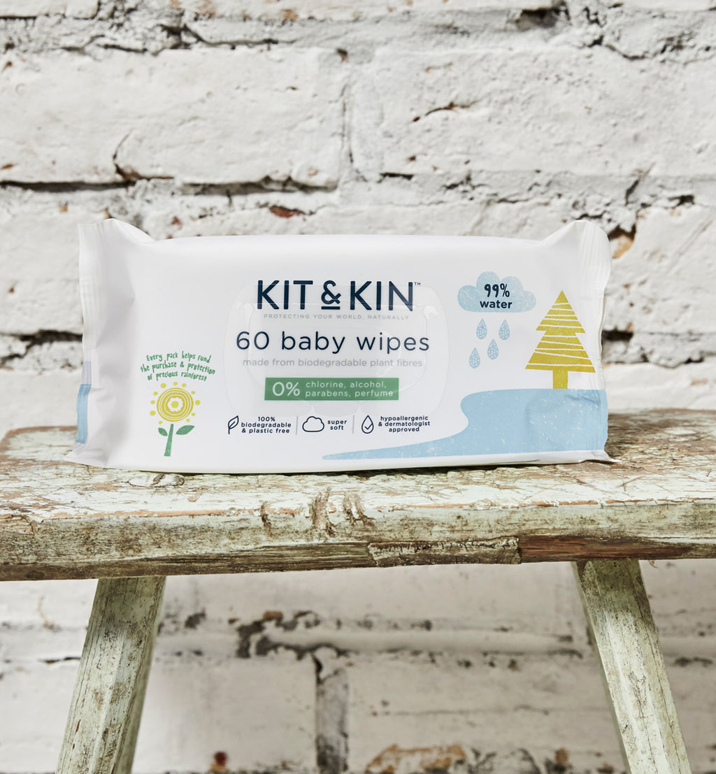 Kit and Kin earth friendly baby wipes