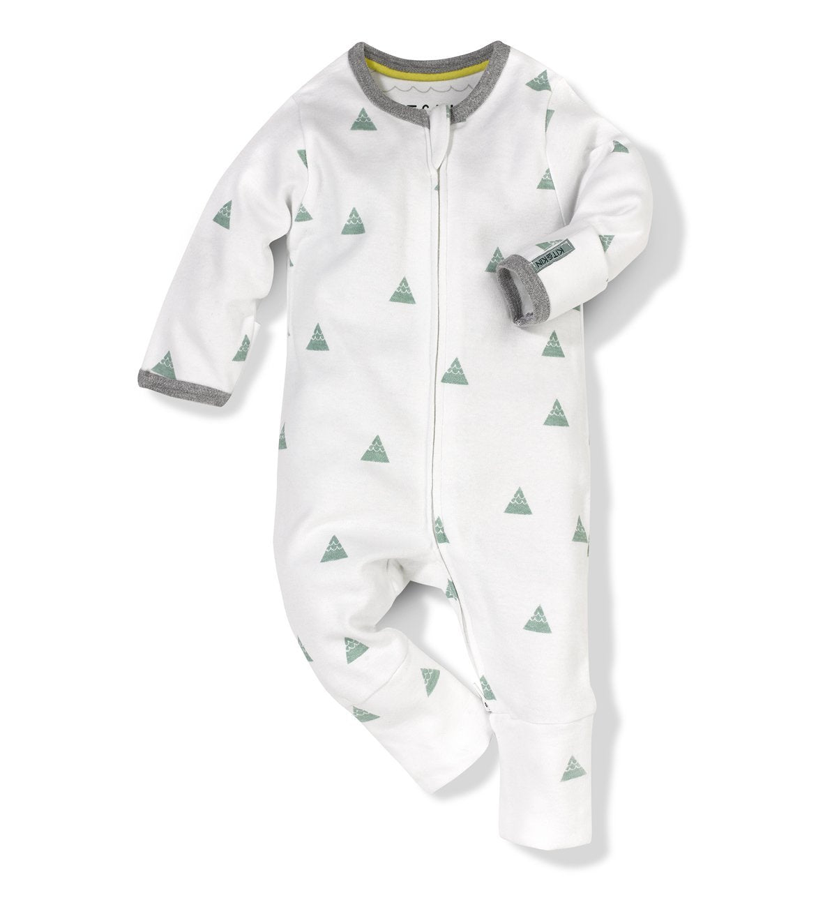 Kit & Kin organic cotton mountain All-in-one