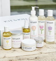 Kit & Kin Certified natural mum & baby skincare bundle