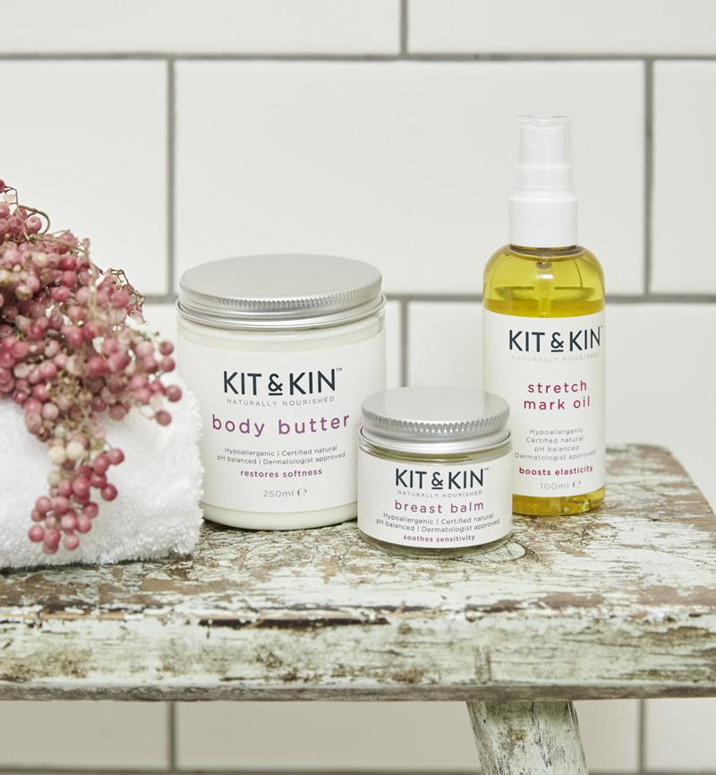 Kit & Kin Certified natural mum skincare bundle