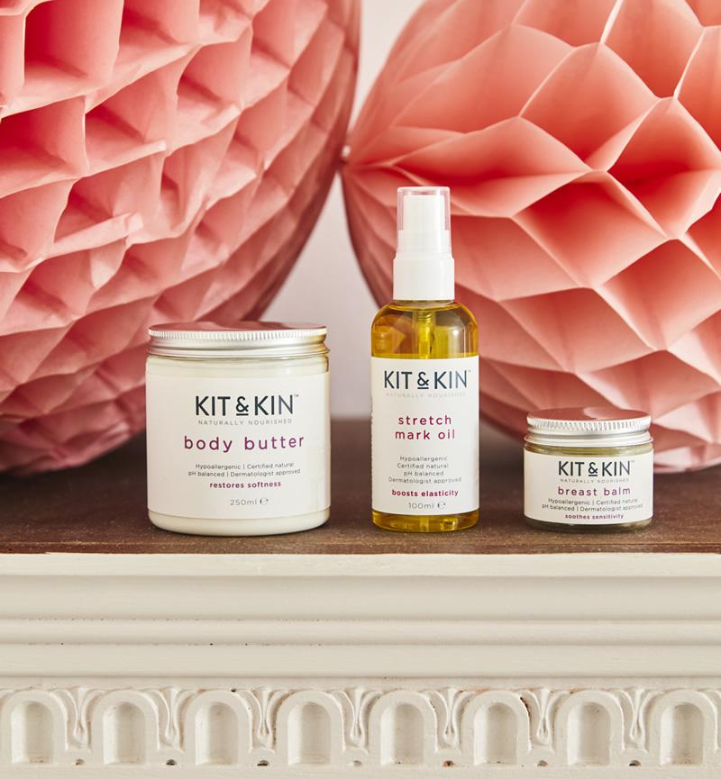 Naturally nourishing mum skincare bundle