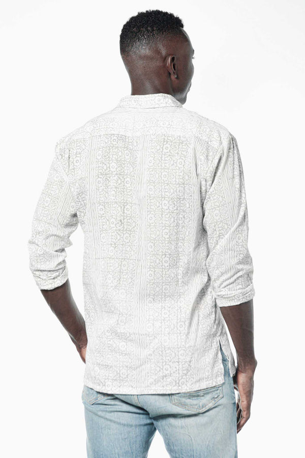 Camisa BLOCK Pushkar Grey - Cloud9 Ibiza