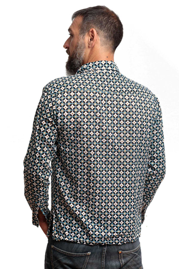 Camisa Estampada Disco