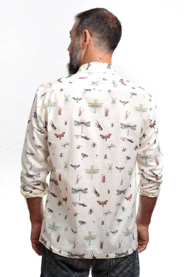 Camisa Hombre Insects