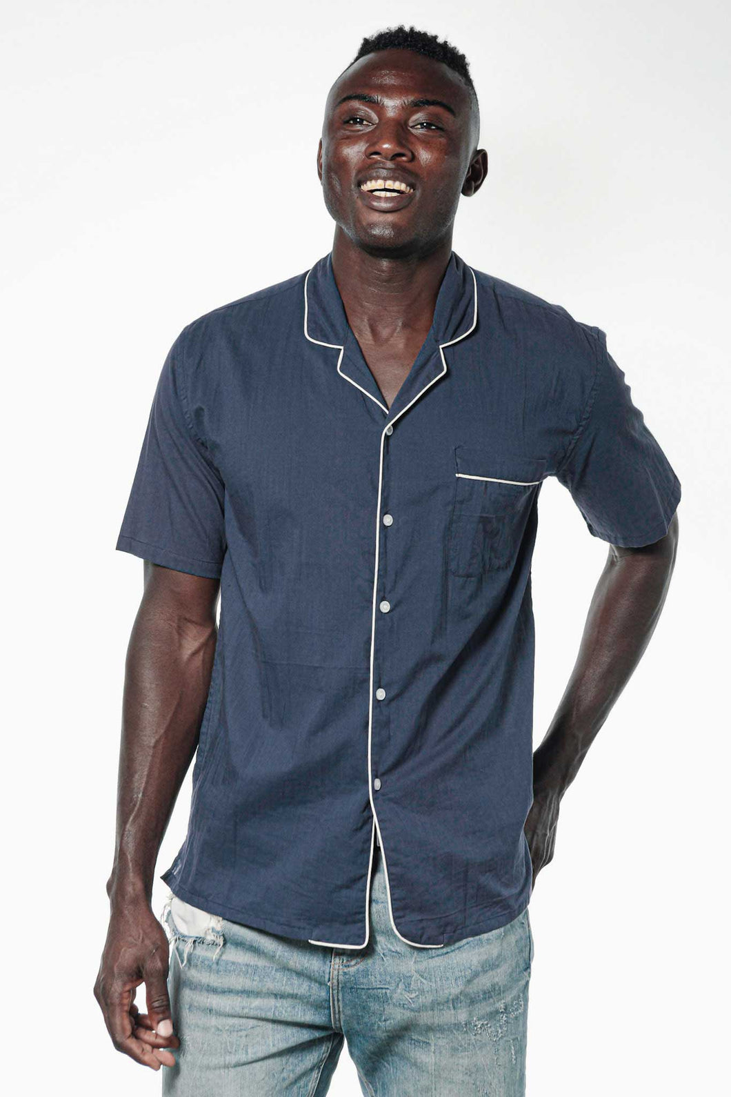 Camisa JACQUES Navy Blue