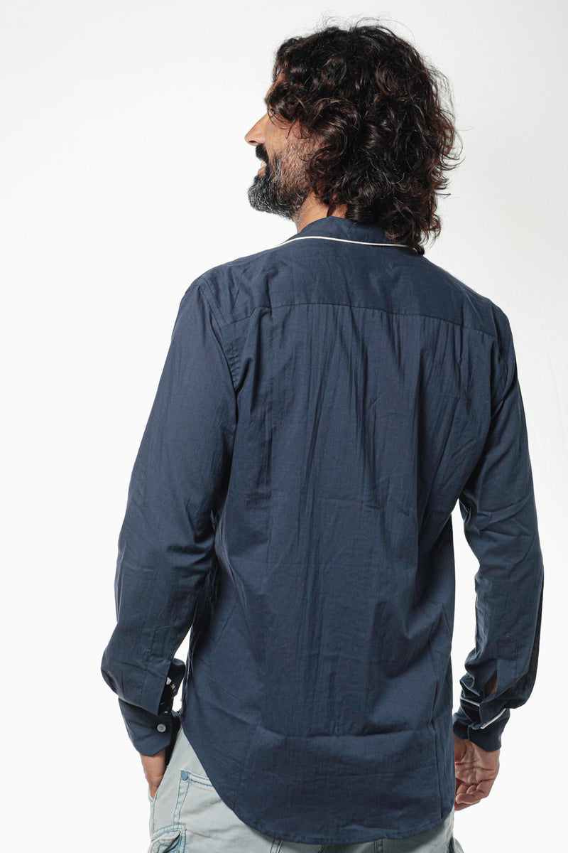 Camisa GIANNI Navy Blue