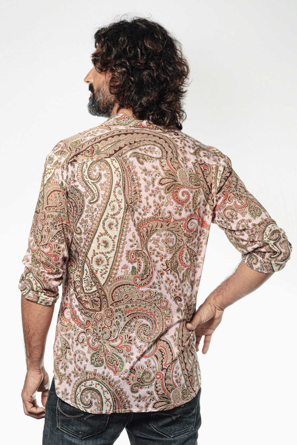 Camisa Hombre Psychedelic Pink