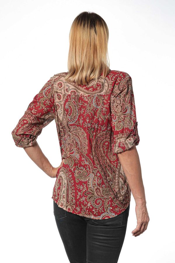 Camisa Mujer Psychedelic Red