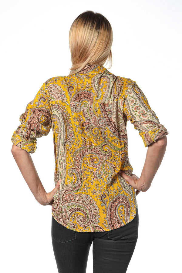 Camisa Mujer Psychedelic Yellow