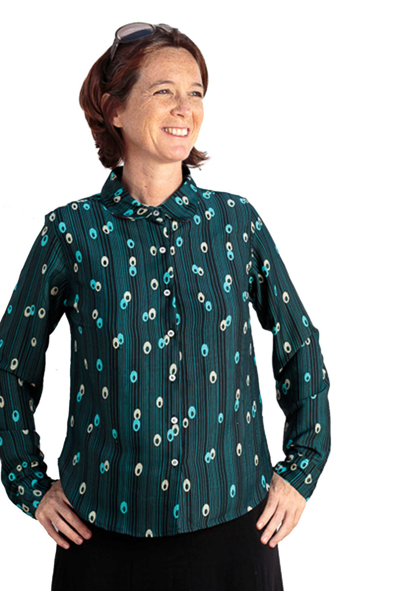 Camisa SUSY Disco Blue