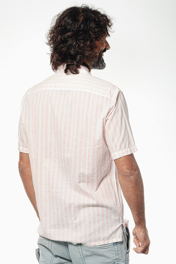 Camisa JACQUES Pink Stripes