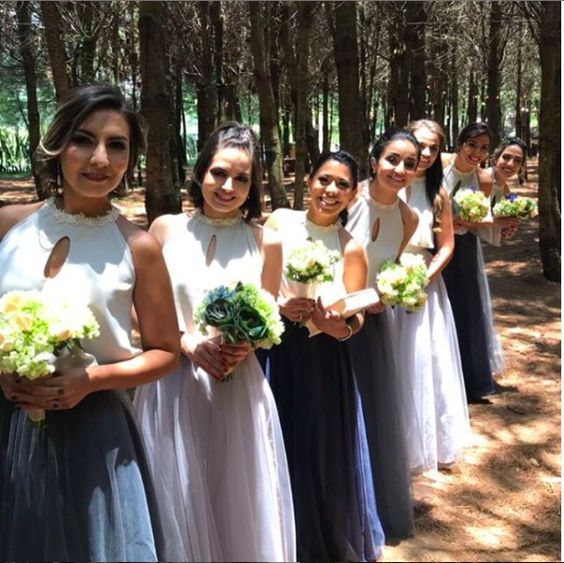 ¿Cómo elegir el vestido ideal para tus damas de honor? (Bridesmaid dress)
