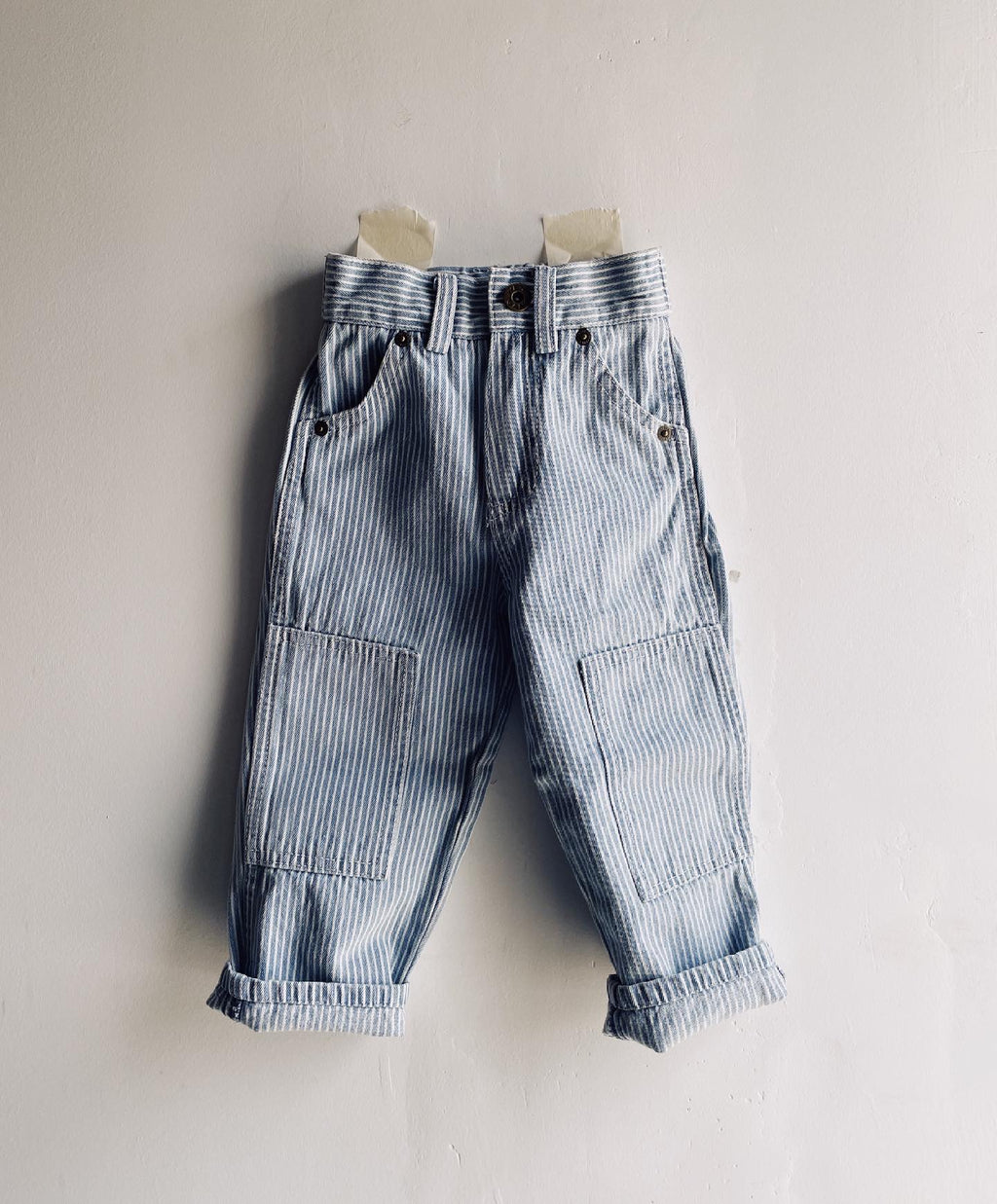 The Knee Patch Jean Washed Railroad