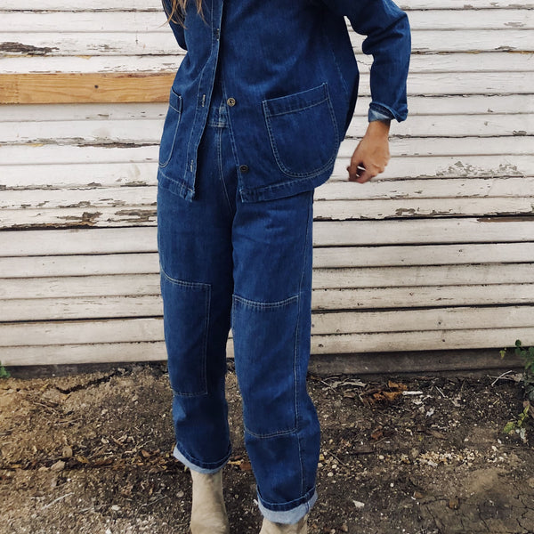 The Women's Chore Coat Denim