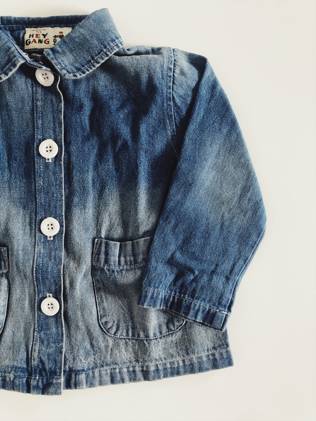 The Chore Coat Washed Denim