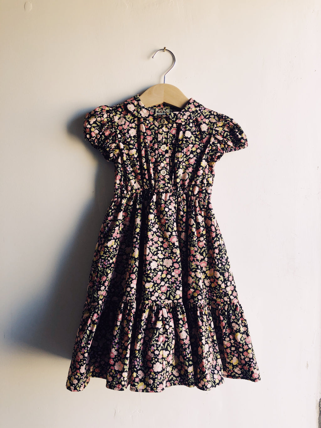 The Frilly Dress Black Floral